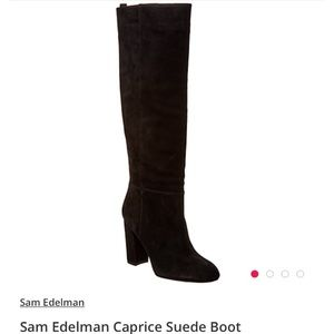 Sam Edelman Caprice Suede boots